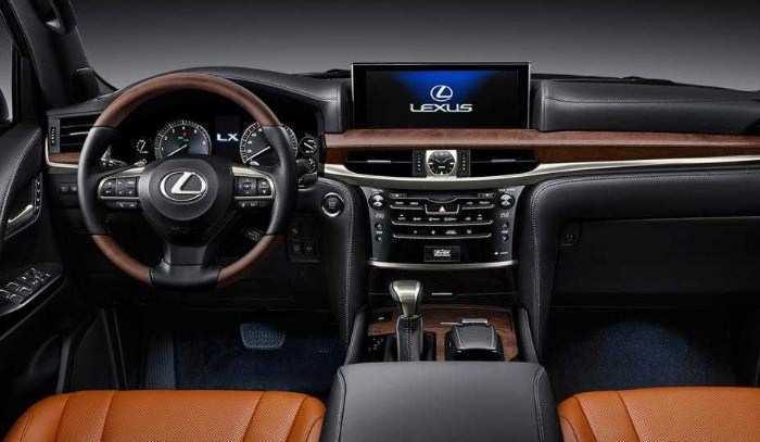 55 New Lexus Lx 2019 Interior Overview for Lexus Lx 2019 Interior