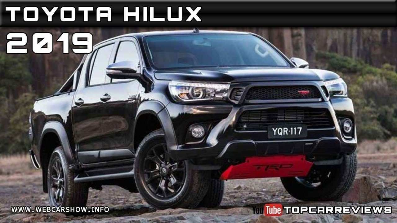 56 All New Best Toyota Hilux 2019 Facelift Concept Performance for Best Toyota Hilux 2019 Facelift Concept