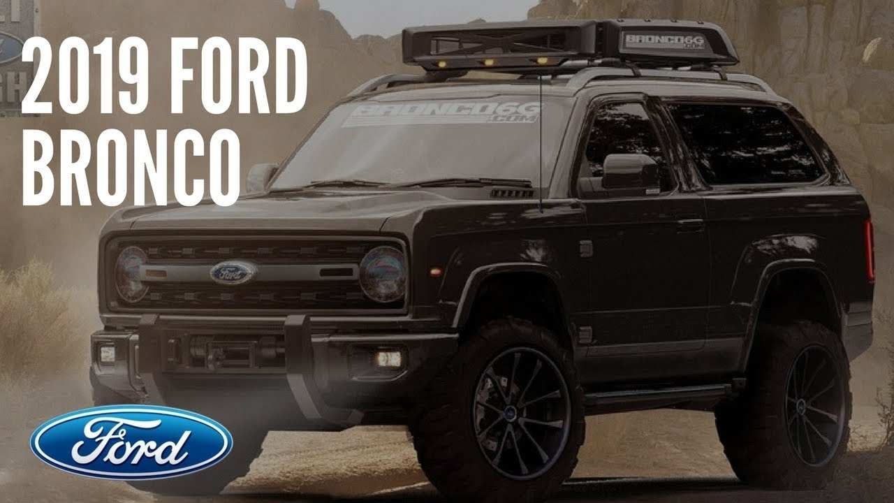 56 Concept of The 2019 Ford Bronco Interior Review Release with The 2019 Ford Bronco Interior Review