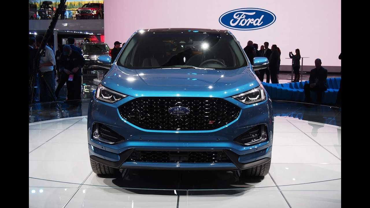 56 New The 2019 Ford Edge St Youtube Overview And Price Specs with The 2019 Ford Edge St Youtube Overview And Price