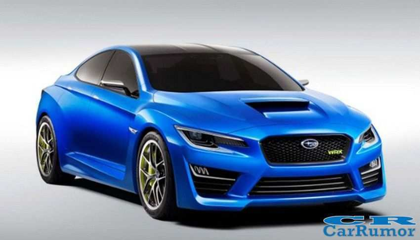 56 The Subaru Wrx 2019 Concept Configurations by Subaru Wrx 2019 Concept