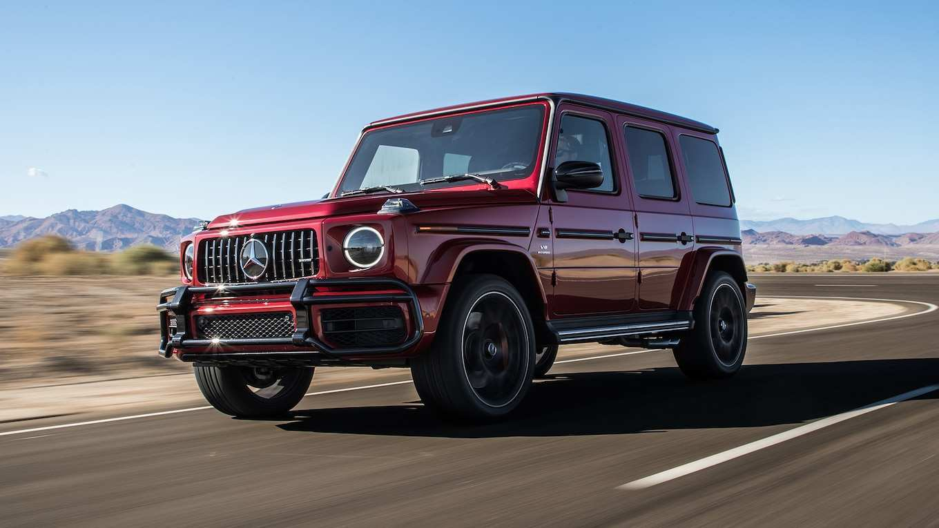 57 All New 2019 Mercedes G Class Redesign and Concept for 2019 Mercedes G Class