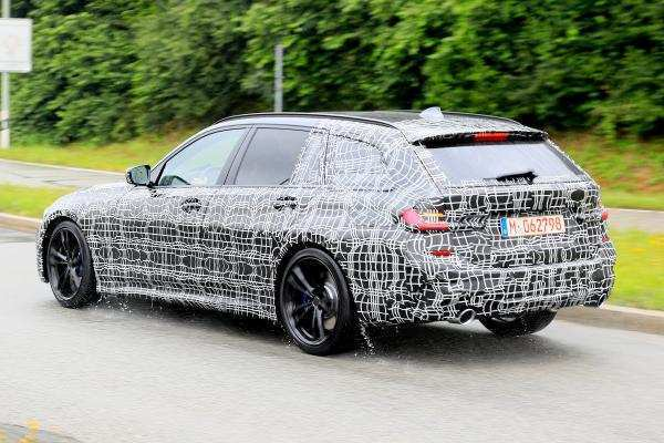 57 The 2019 Bmw 3 Series Electric Spy Shoot Overview by 2019 Bmw 3 Series Electric Spy Shoot