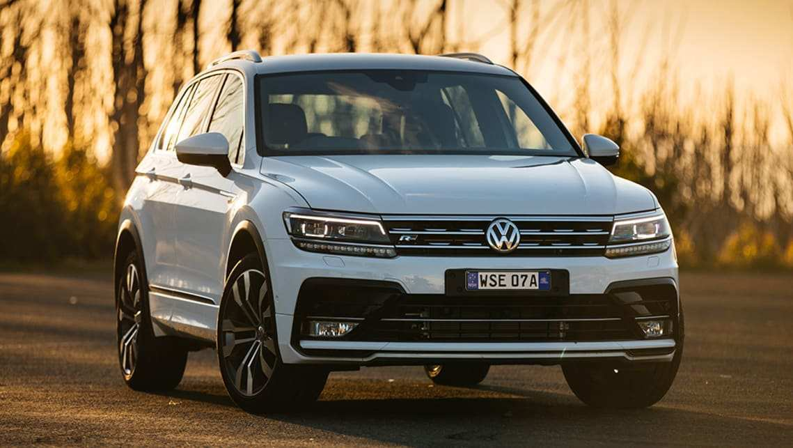 58 All New Best Volkswagen 2019 Tiguan Concept Spy Shoot with Best Volkswagen 2019 Tiguan Concept