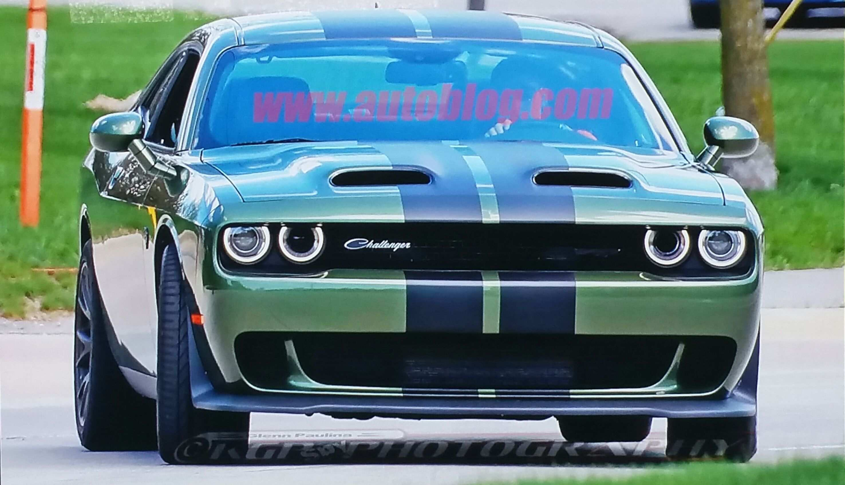 58 Concept of New Dodge 2019 Challenger Colors Spy Shoot Photos with New Dodge 2019 Challenger Colors Spy Shoot