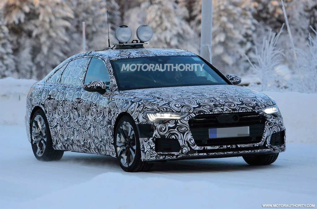 58 The The Audi 2019 Changes Spy Shoot Exterior and Interior with The Audi 2019 Changes Spy Shoot