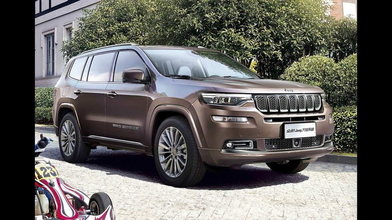 59 All New New Jeep Grand Commander 2019 Price Research New by New Jeep Grand Commander 2019 Price