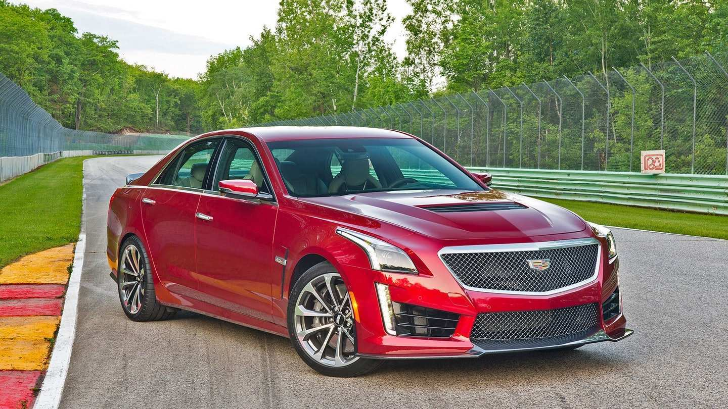 60 Gallery of New 2019 Cadillac Cts V Hp First Drive Picture for New 2019 Cadillac Cts V Hp First Drive