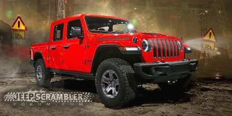 60 The Best Jeep Wrangler Pickup 2019 Concept Redesign And Review Wallpaper for Best Jeep Wrangler Pickup 2019 Concept Redesign And Review