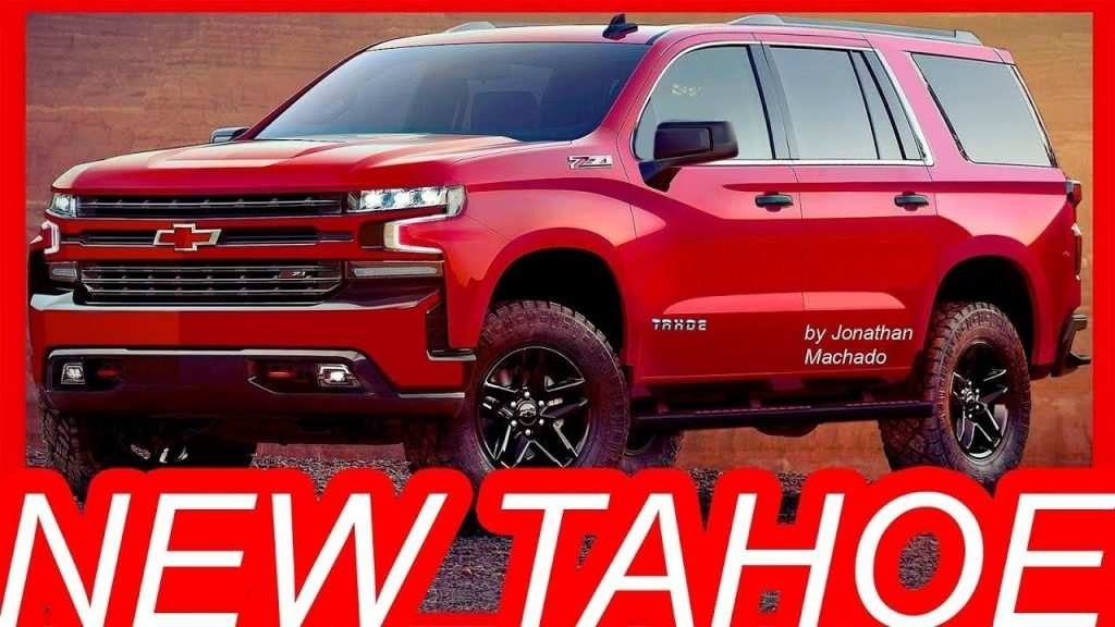 61 Great New Chevrolet 2019 Tahoe Concept First Drive with New Chevrolet 2019 Tahoe Concept