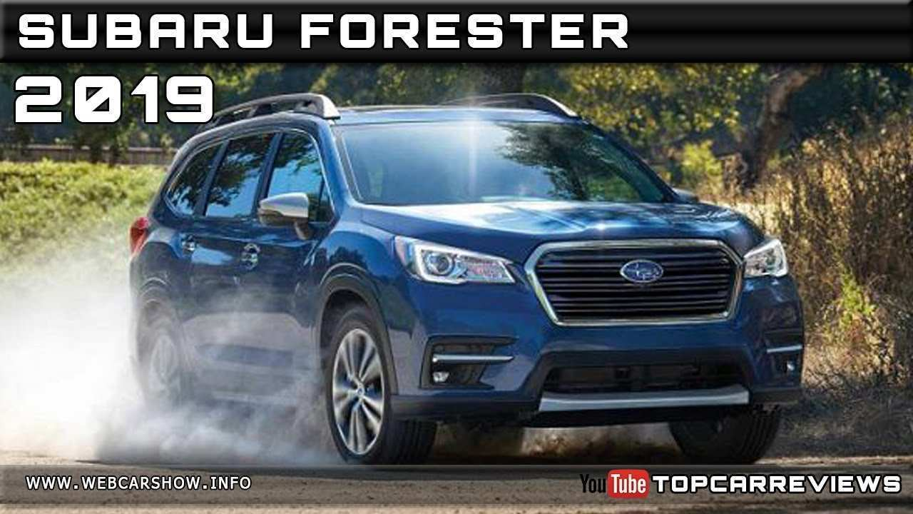 61 Great The Release Date Of Subaru 2019 Forester Picture Release Date And Review Price for The Release Date Of Subaru 2019 Forester Picture Release Date And Review
