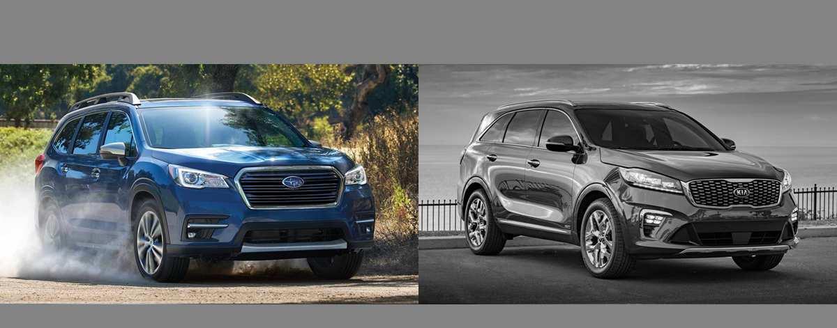 61 New New 2019 Kia Sorento Vs Subaru Ascent Release Date And Specs History by New 2019 Kia Sorento Vs Subaru Ascent Release Date And Specs