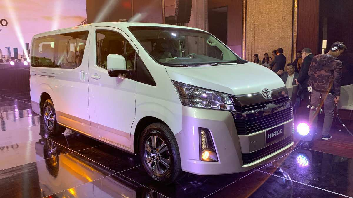 61 New Toyota Hiace 2019 Picture for Toyota Hiace 2019