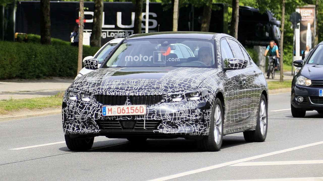 62 All New 2019 Bmw 3 Series Electric Spy Shoot Wallpaper With 2019