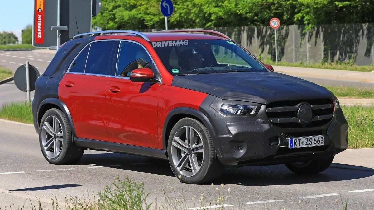 62 All New Gle Mercedes 2019 Spy Shoot Exterior and Interior by Gle Mercedes 2019 Spy Shoot