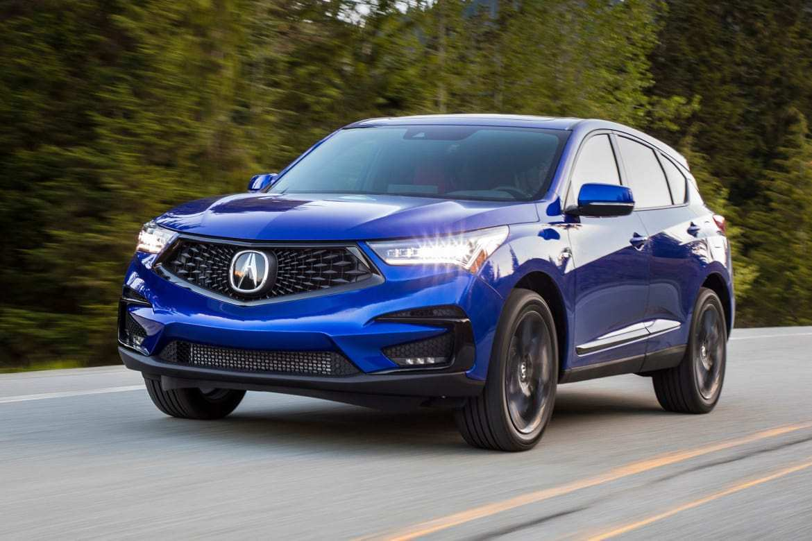 62 Best Review New Acura Rdx 2019 Option Packages Review And Specs Overview by New Acura Rdx 2019 Option Packages Review And Specs