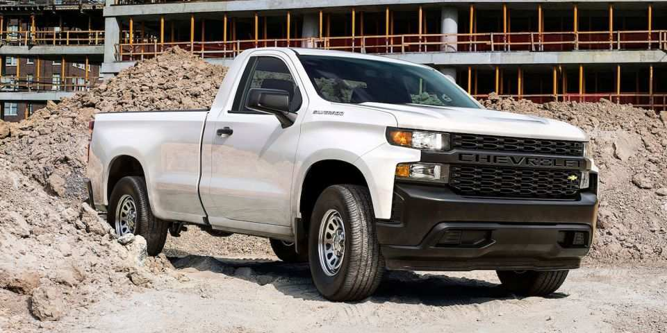 62 Gallery of New 2019 Chevrolet Silverado Work Truck Concept Redesign And Review Price and Review for New 2019 Chevrolet Silverado Work Truck Concept Redesign And Review