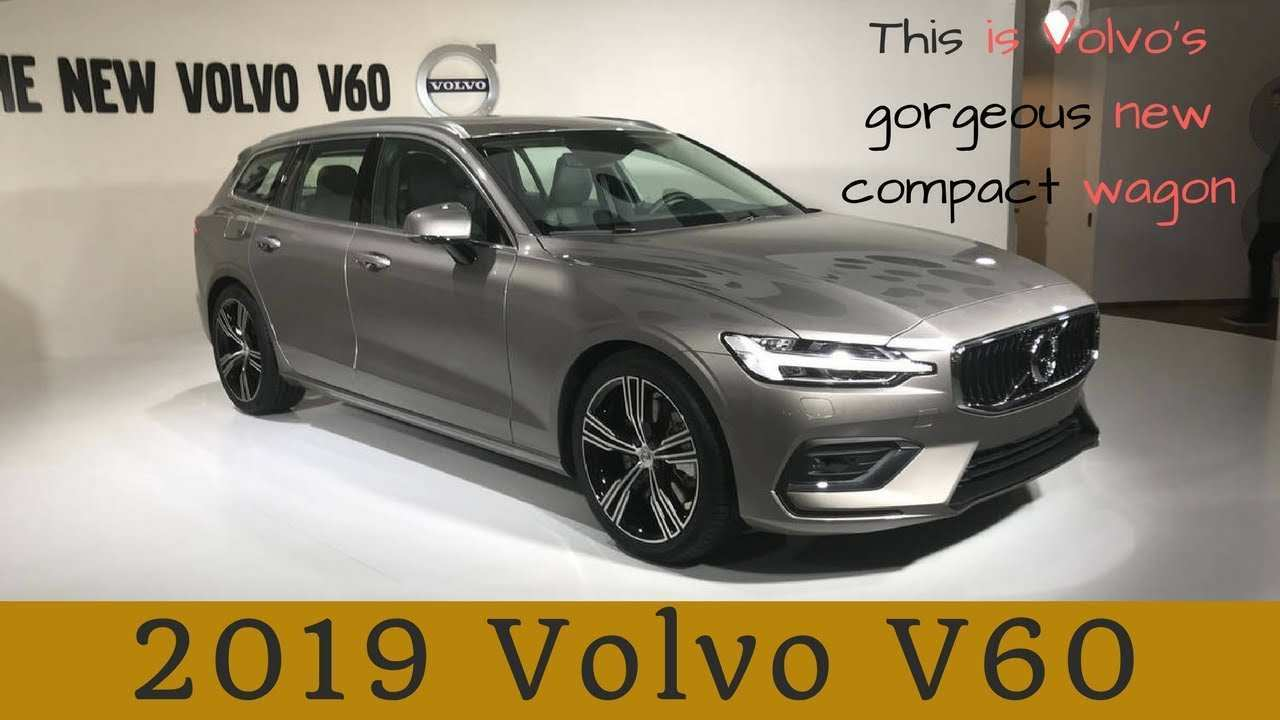62 Gallery of Volvo 2019 V60 Review Interior Exterior And Review Spy Shoot by Volvo 2019 V60 Review Interior Exterior And Review