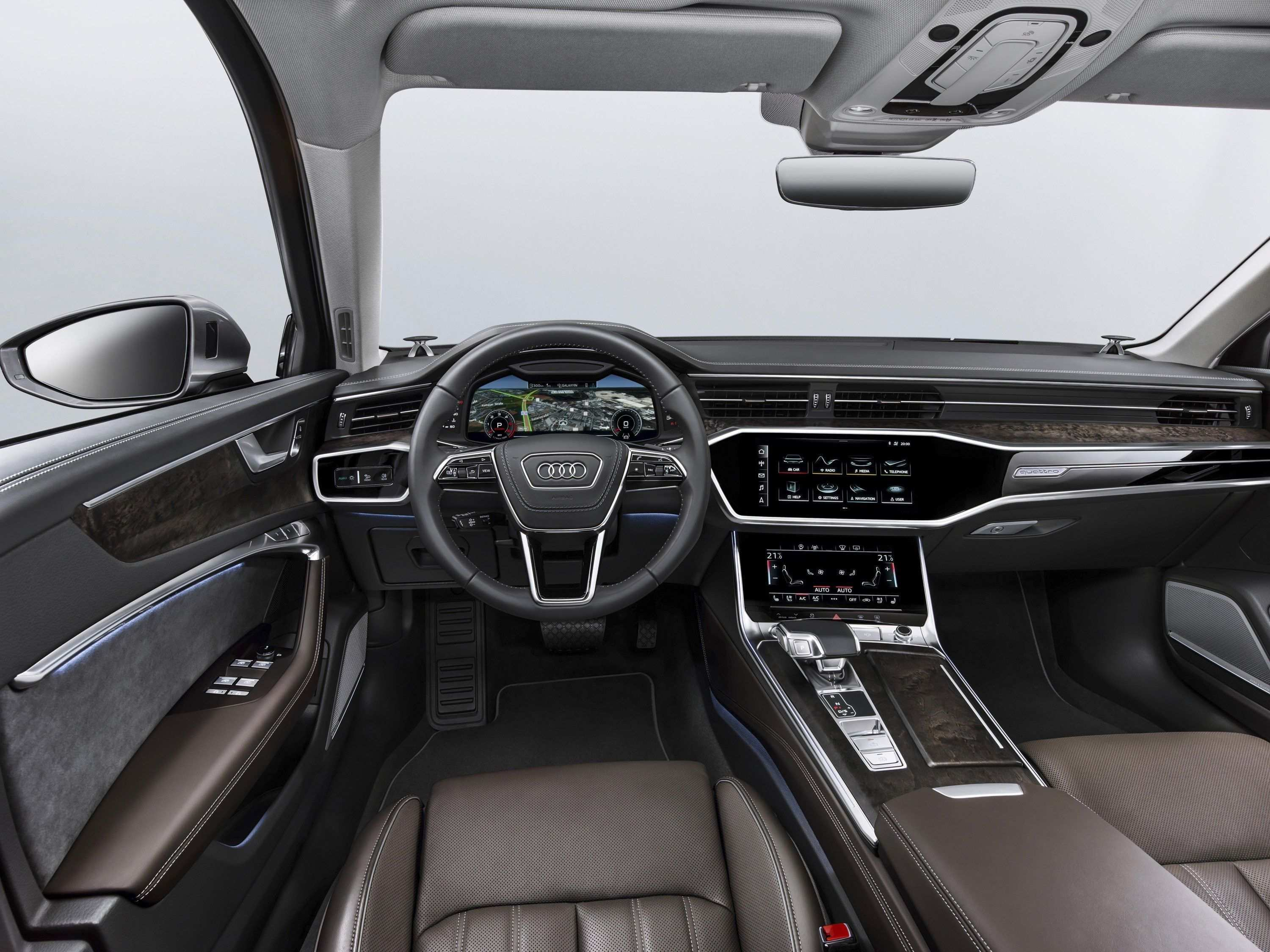 63 Concept of New Audi A6 2019 Interior Spy Shoot Redesign with New Audi A6 2019 Interior Spy Shoot