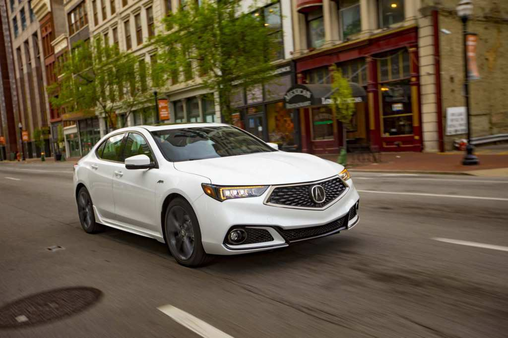 63 Gallery of Acura Tlx 2019 Review Interior Exterior for Acura Tlx 2019 Review Interior