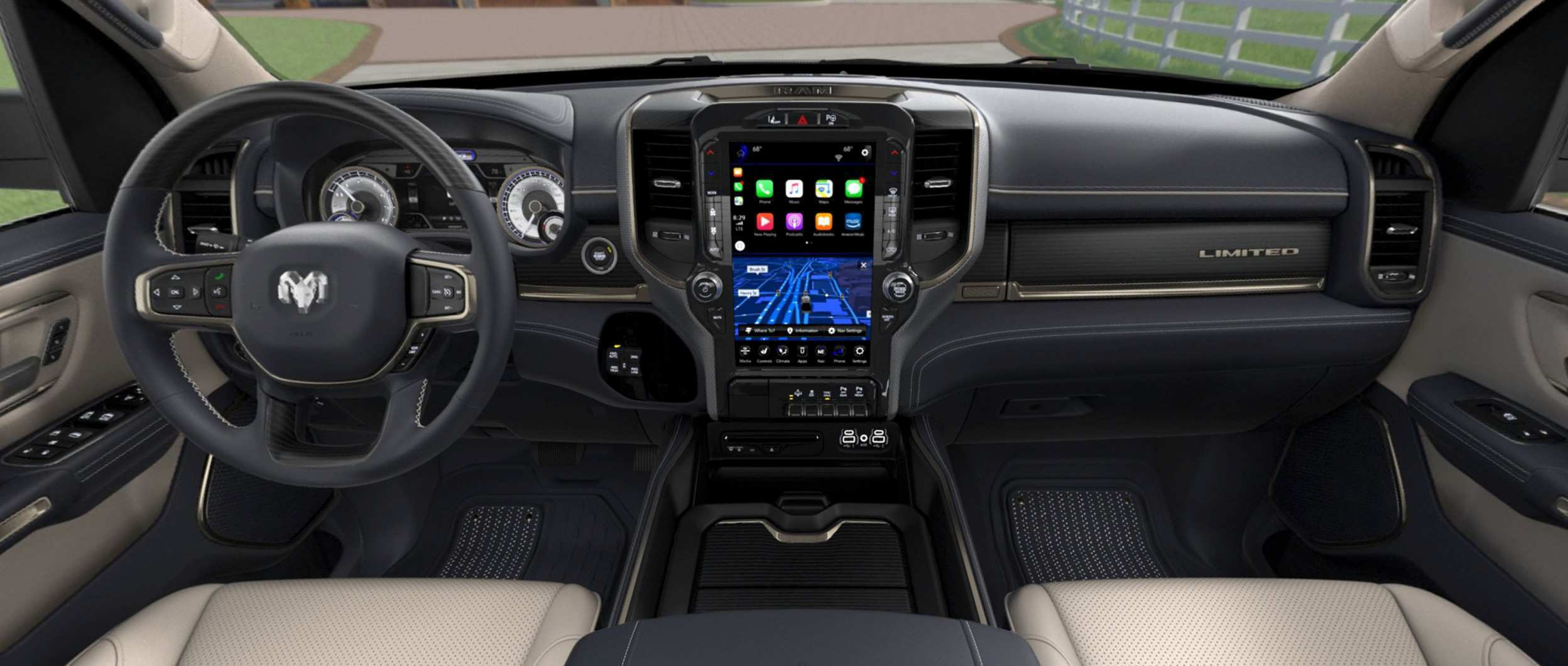 63 Great 2019 Dodge Ram Interior Redesign Exterior for 2019 Dodge Ram Interior Redesign