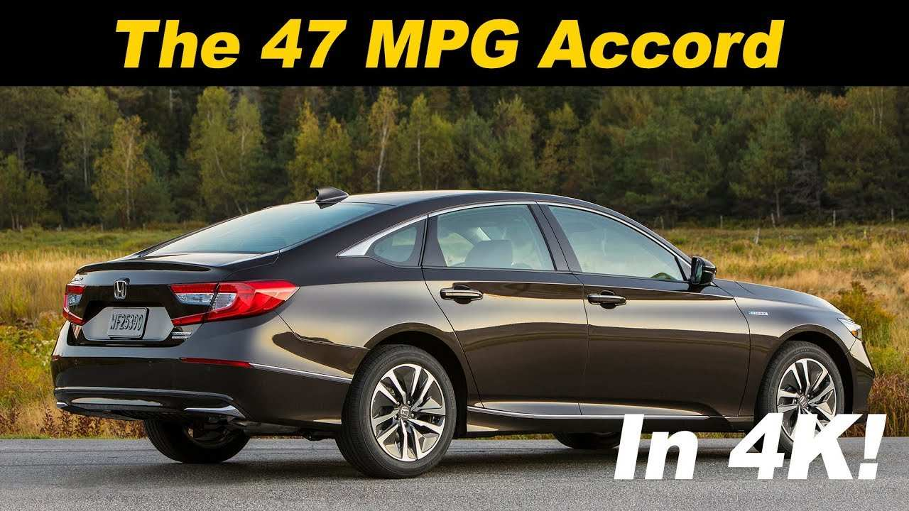 64 Concept of New Honda Accord Hybrid 2019 Price And Release Date Exterior and Interior with New Honda Accord Hybrid 2019 Price And Release Date
