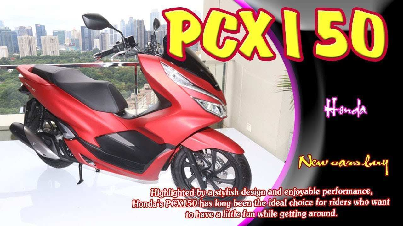 66 Best Review New 2019 Honda Pcx150 Redesign Images for New 2019 Honda Pcx150 Redesign