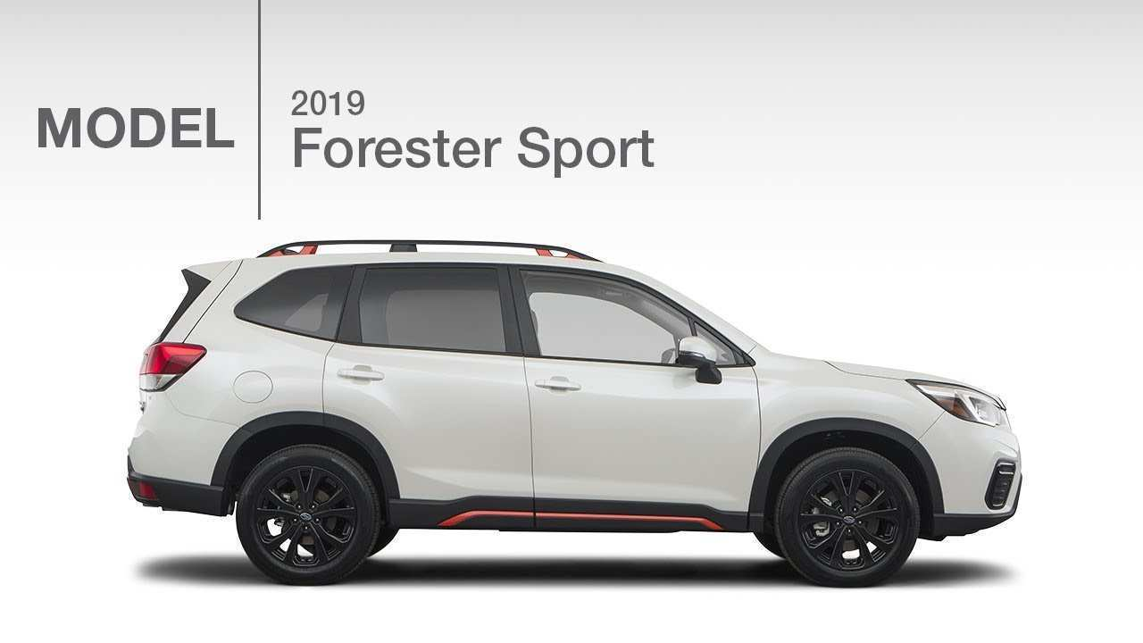 66 The 2019 Subaru Forester Sport 2 Exterior with 2019 Subaru Forester Sport 2