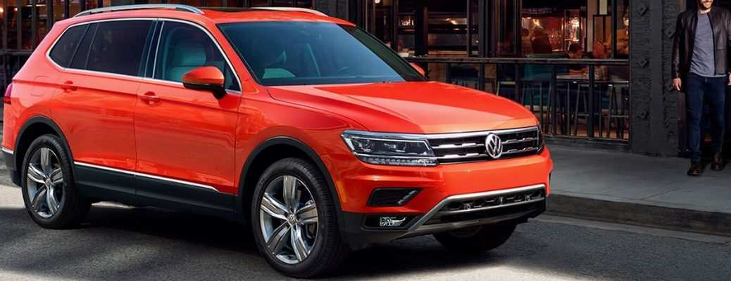67 All New Best Volkswagen 2019 Tiguan Concept Spy Shoot with Best Volkswagen 2019 Tiguan Concept