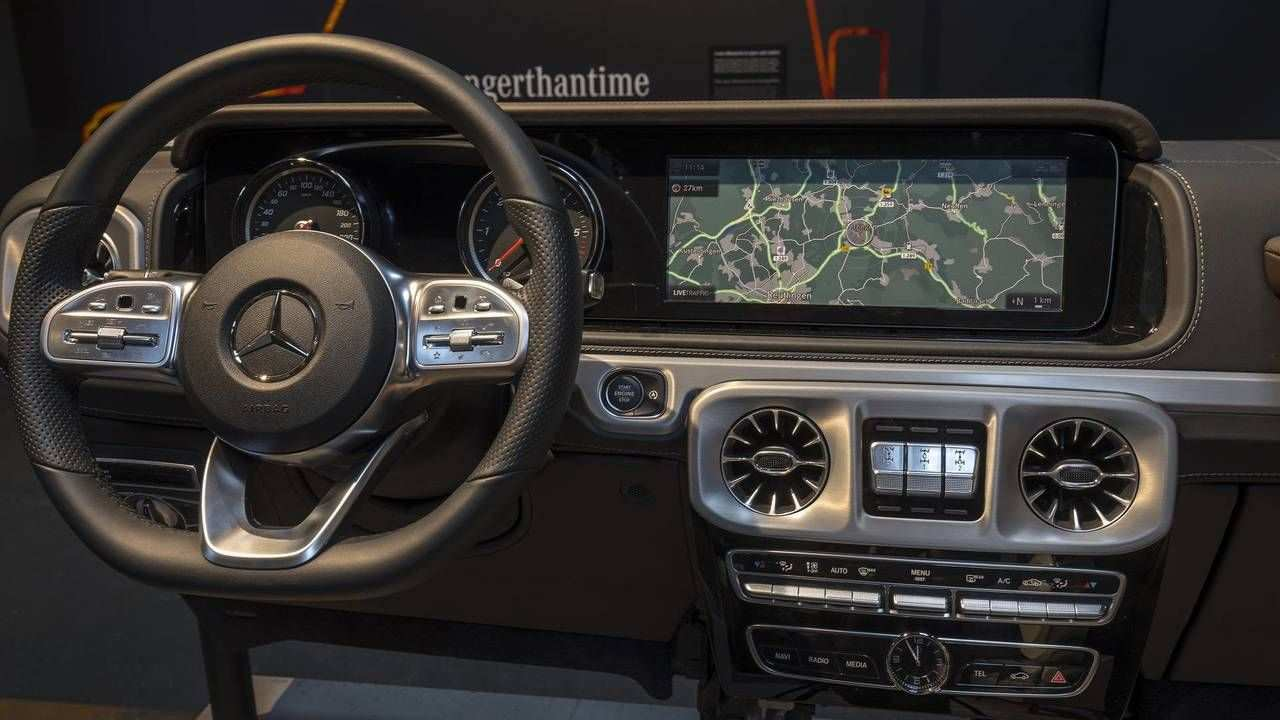 67 The The Mercedes G 2019 Review Interior Configurations by The Mercedes G 2019 Review Interior