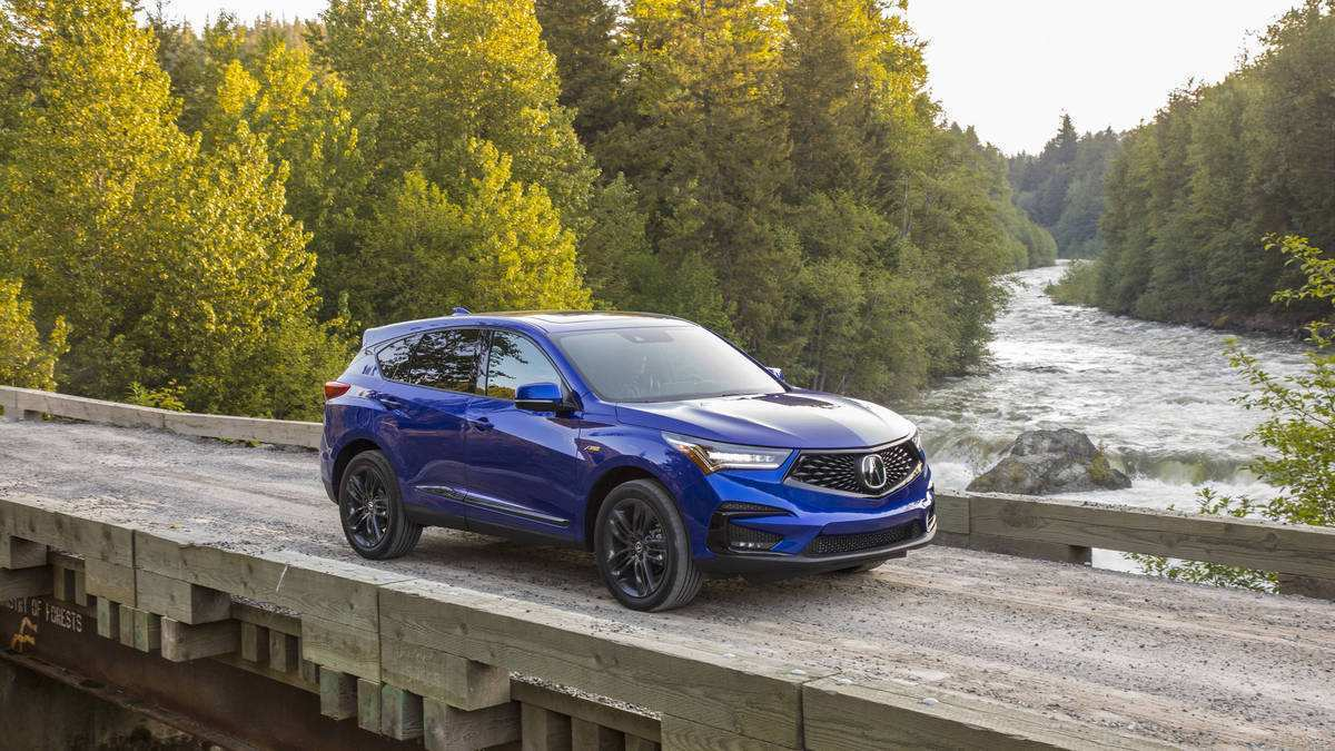 68 New Acura 2019 Crossover First Drive Review for Acura 2019 Crossover First Drive