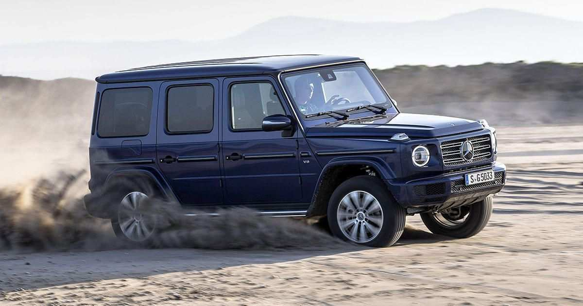 68 New G550 Mercedes 2019 Spy Shoot by G550 Mercedes 2019