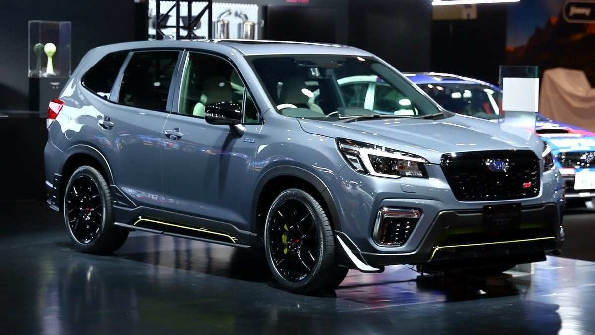 68 The The 2019 Subaru Forester Sport Concept Model with The 2019 Subaru Forester Sport Concept