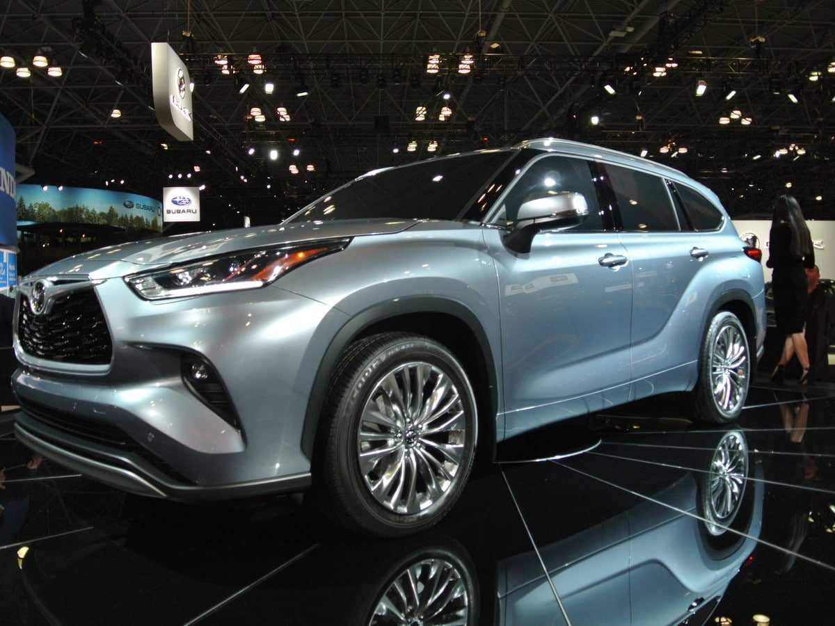 68 The The Toyota Highlander 2019 Redesign Concept Prices for The Toyota Highlander 2019 Redesign Concept