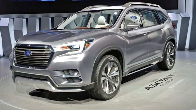 69 Best Review Best 2019 Subaru Ascent Release Date Usa Specs Interior with Best 2019 Subaru Ascent Release Date Usa Specs