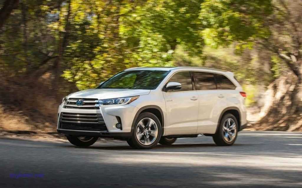 69 Best Review The Toyota Highlander 2019 Redesign Concept Overview with The Toyota Highlander 2019 Redesign Concept