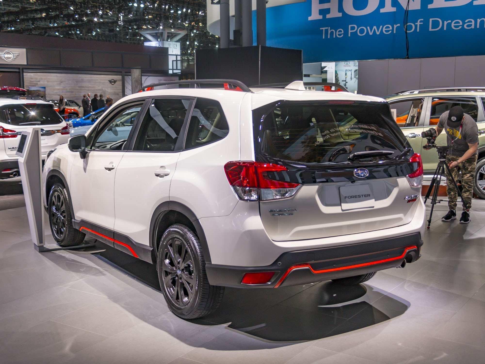 70 Gallery of Subaru Forester 2019 Green Spy Shoot Rumors with Subaru Forester 2019 Green Spy Shoot