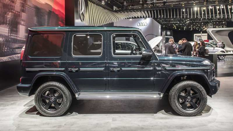 71 Best Review 2019 Mercedes G Class Exterior and Interior for 2019 Mercedes G Class
