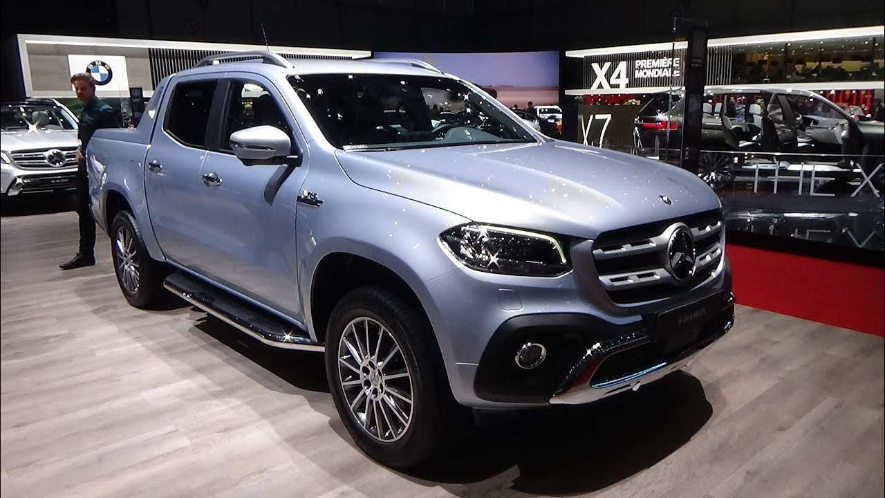 71 Great 2019 Mercedes X Class Pickup Truck Release Date Performance and New Engine with 2019 Mercedes X Class Pickup Truck Release Date