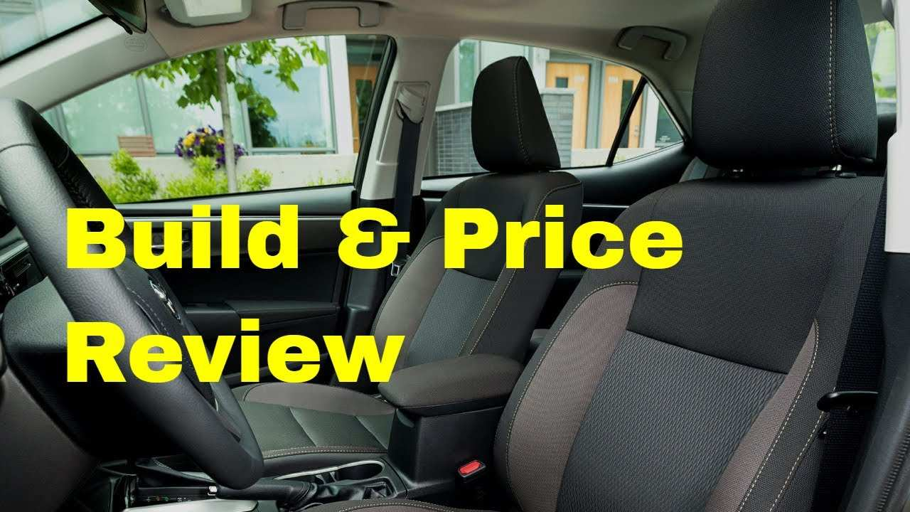 72 Best Review 2019 Toyota Build And Price Interior for 2019 Toyota Build And Price