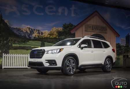 73 All New New Subaru Unveils 2019 Ascent Price And Release Date Images by New Subaru Unveils 2019 Ascent Price And Release Date