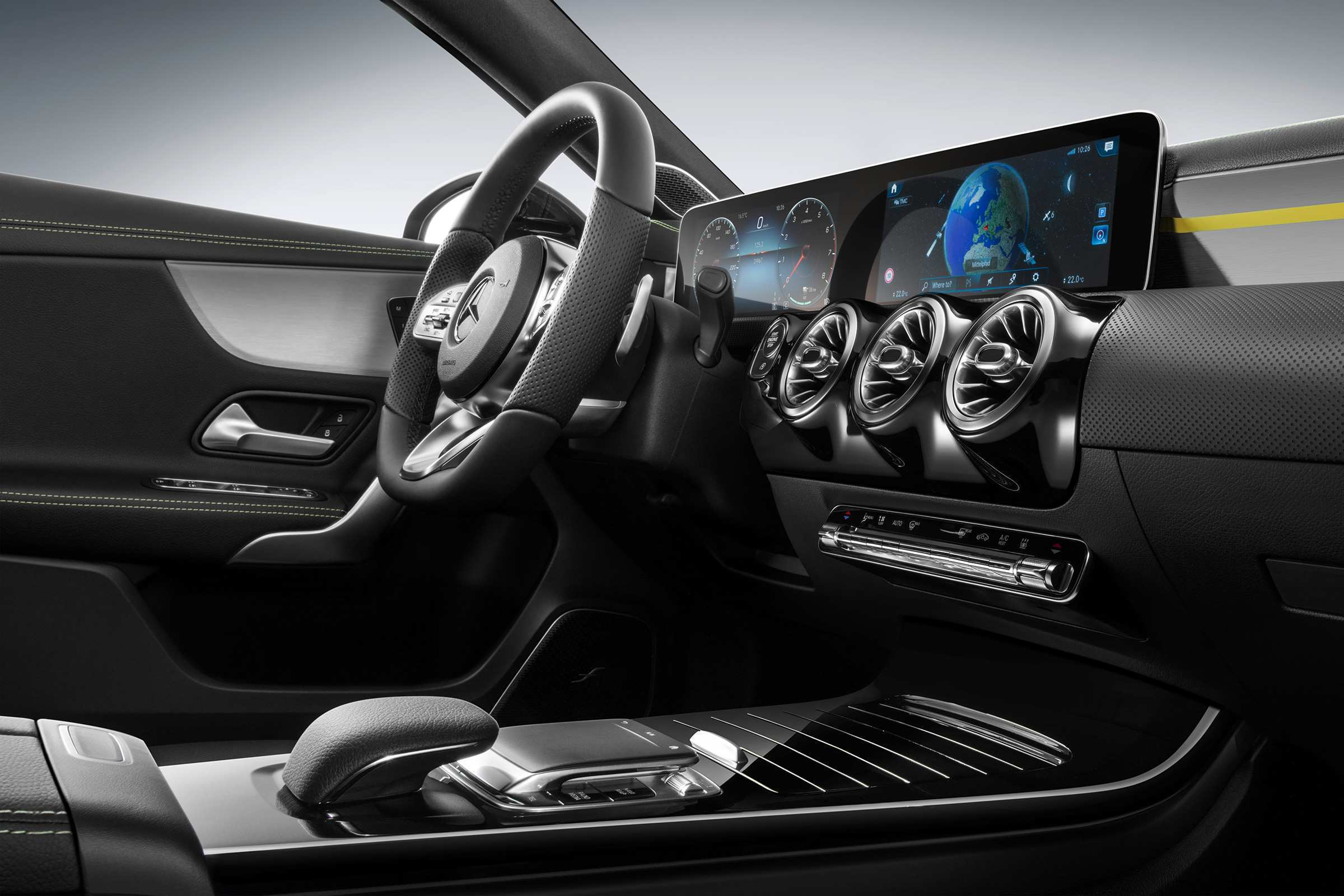 74 Concept of Mercedes A Class 2019 Interior Performance and New Engine with Mercedes A Class 2019 Interior