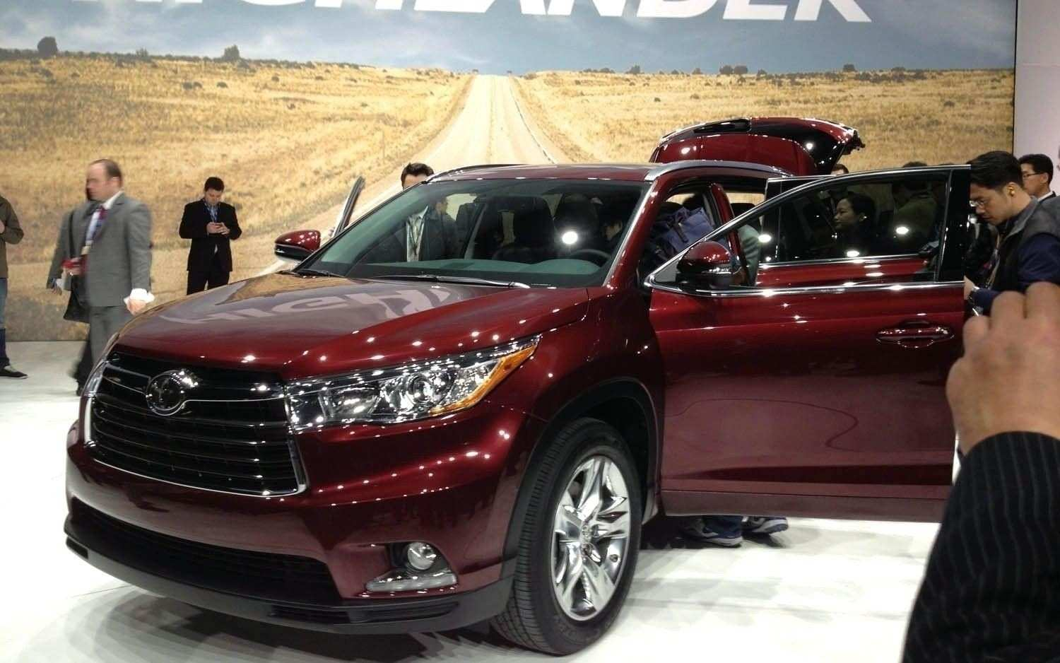 74 Concept of Toyota 2019 Highlander Colors Overview Pricing with Toyota 2019 Highlander Colors Overview
