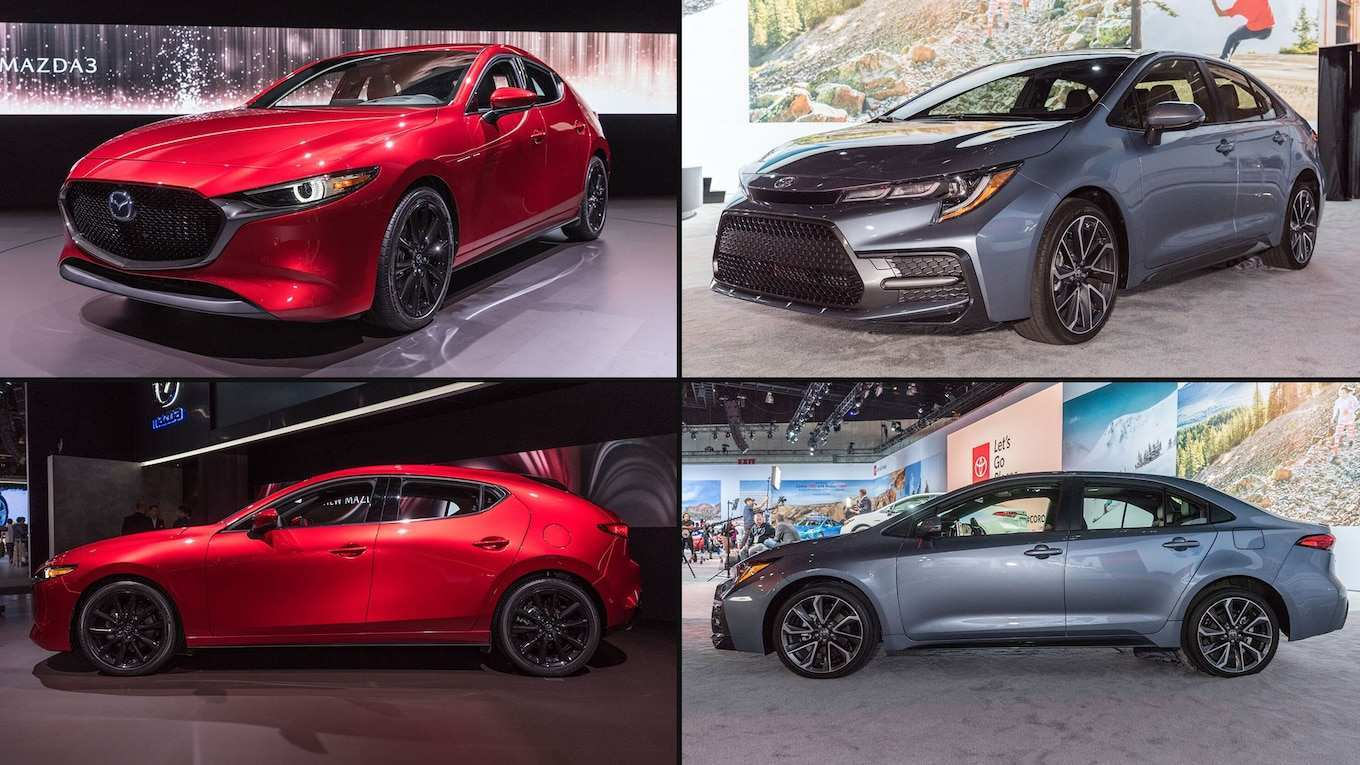 75 All New New 2019 Corolla Hatchback Vs Mazda 3 Specs Redesign and Concept by New 2019 Corolla Hatchback Vs Mazda 3 Specs