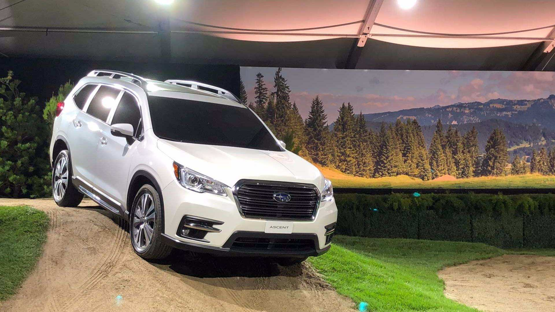 77 Gallery of New Subaru Unveils 2019 Ascent Price And Release Date Prices with New Subaru Unveils 2019 Ascent Price And Release Date
