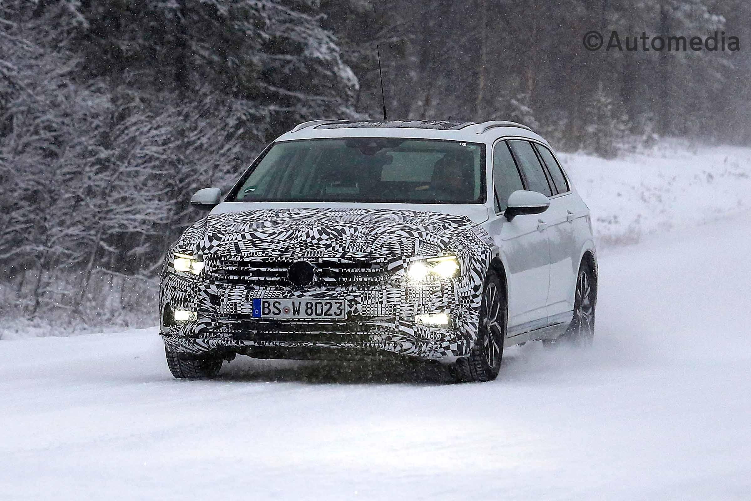 78 Concept of The Volkswagen Passat 2019 Interior Spy Shoot Concept for The Volkswagen Passat 2019 Interior Spy Shoot