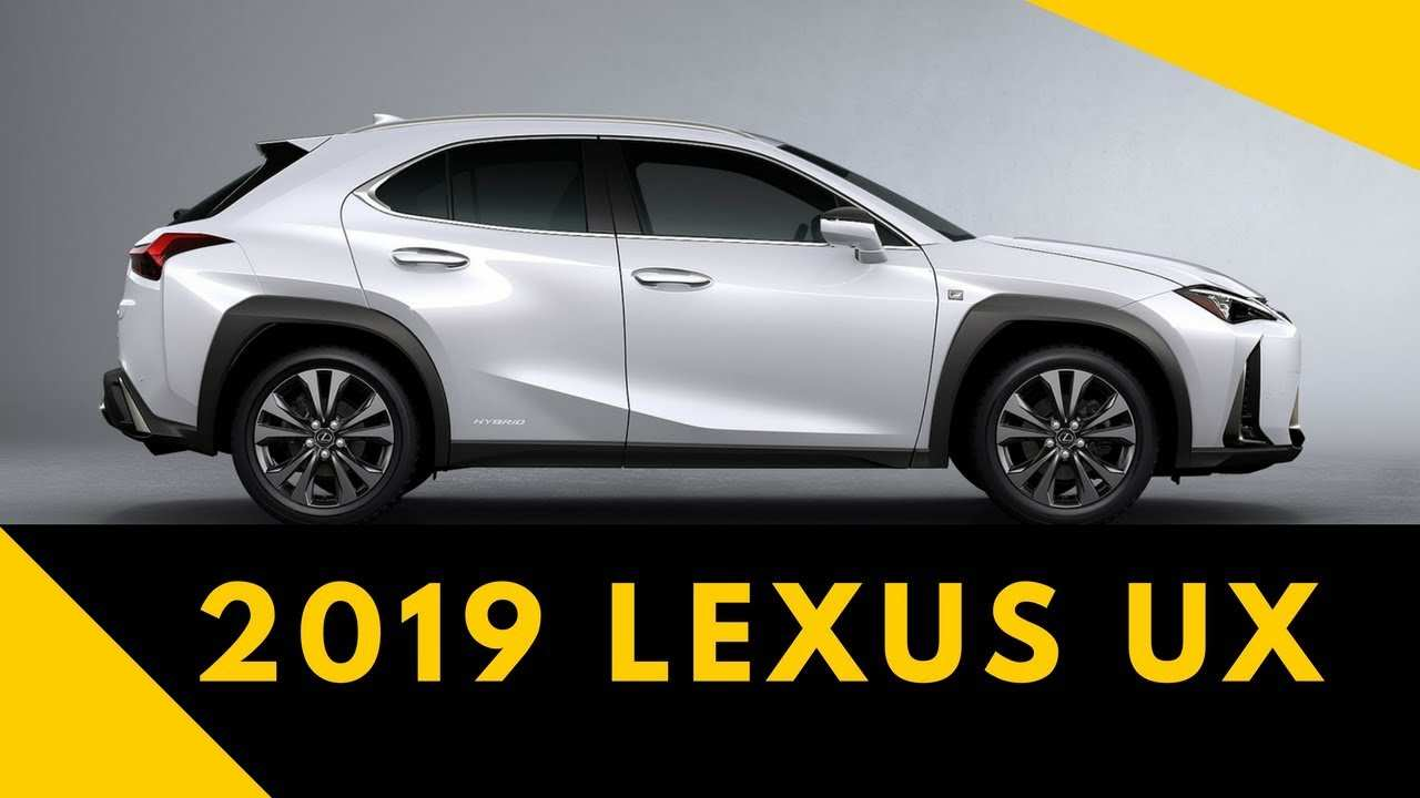 78 The 2019 Lexus Ux Price Canada Redesign with 2019 Lexus Ux Price Canada