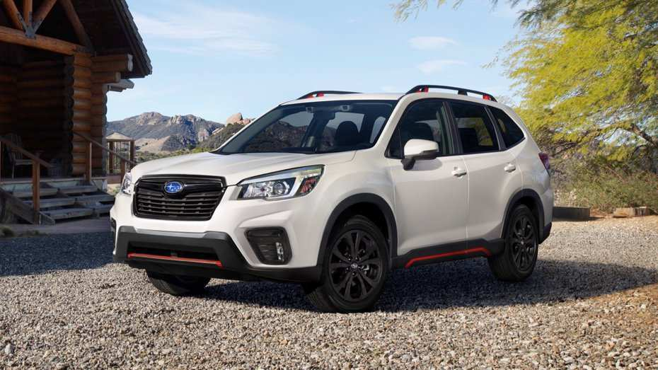 78 The The 2019 Subaru Forester Sport Concept New Review for The 2019 Subaru Forester Sport Concept