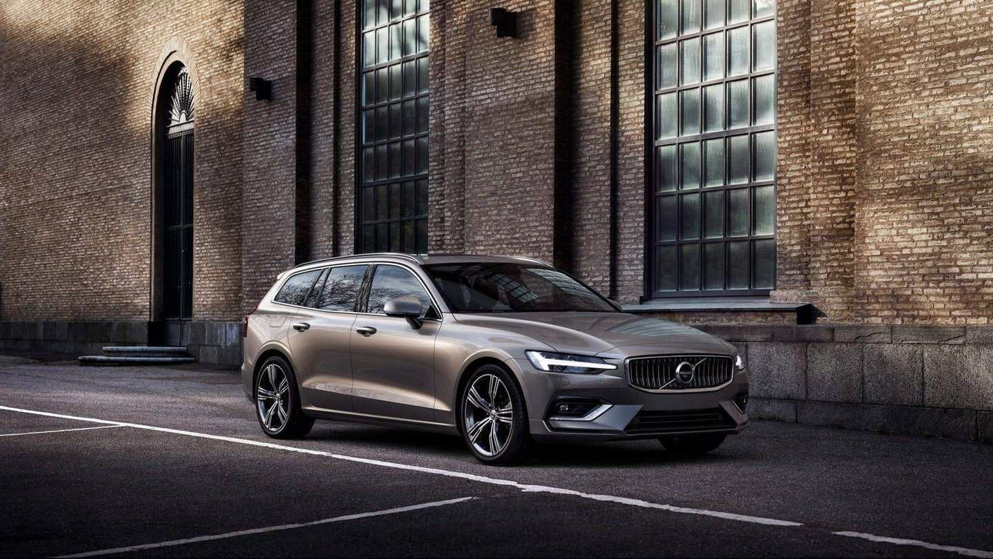 79 All New Volvo Wagon V60 2019 Price And Release Date Exterior with Volvo Wagon V60 2019 Price And Release Date
