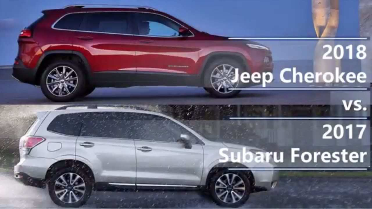 79 Great The 2019 Subaru Forester Vs Jeep Cherokee Review Concept by The 2019 Subaru Forester Vs Jeep Cherokee Review